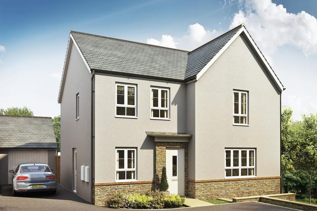 "Thumbnail Detached house for sale in ""Radleigh"" at Kimlers Way, St. Martin, Looe"