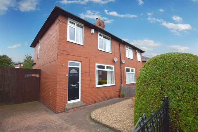 Thumbnail Semi-detached house for sale in Wooler Drive, Leeds, West Yorkshire