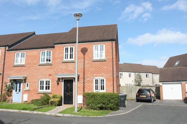 Thumbnail End terrace house for sale in Bramley Copse, Long Ashton, Bristol