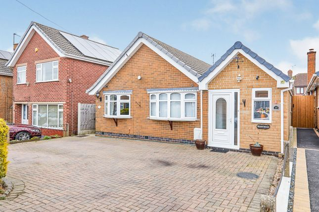 Thumbnail Detached bungalow for sale in Field Rise, Littleover, Derby
