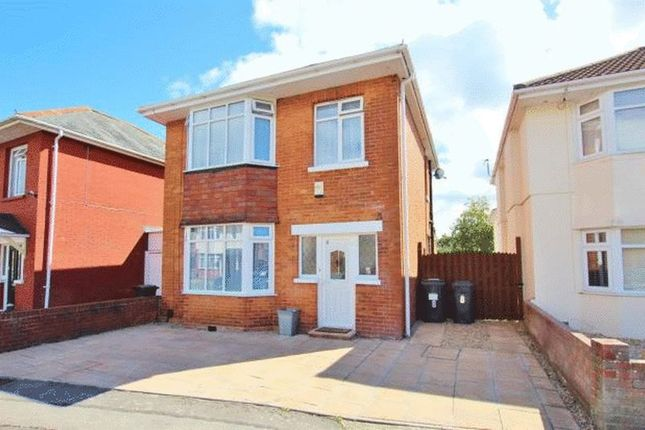 Thumbnail Detached house to rent in Draycott Road, Bournemouth