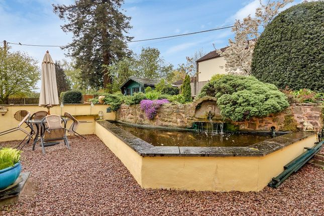 Patio of With 1 Bed Annex, Church Lane, Alvington, Lydney, Gloucestershire. GL15