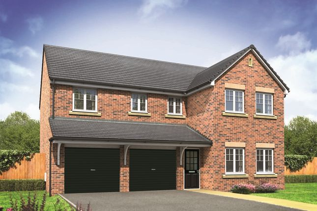 "Thumbnail Detached house for sale in ""The Fenchurch"" at Northborough Way, Boulton Moor, Derby"