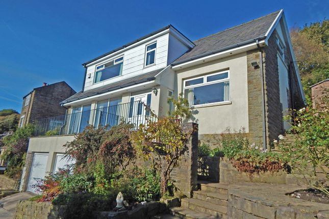 Thumbnail Detached house for sale in Stoneswood Road, Delph, Oldham