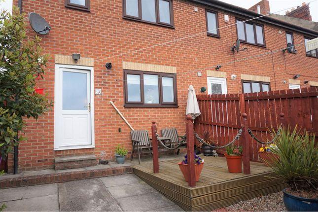 Rear Garden of Cooperative Terrace, Newcastle Upon Tyne NE12