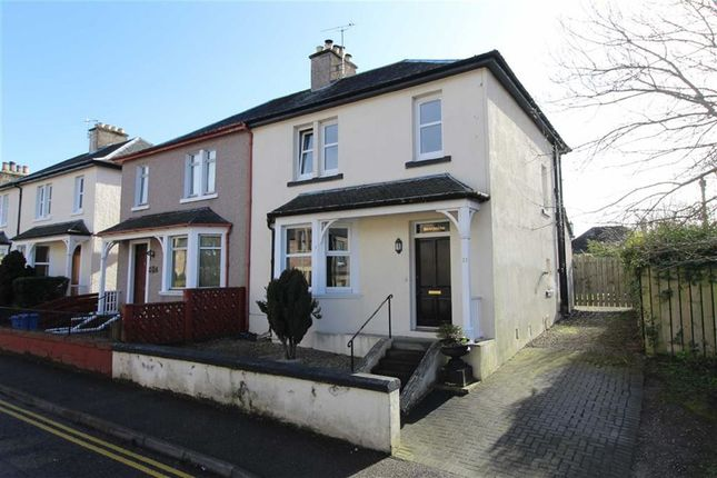 Thumbnail Semi-detached house for sale in 51, Union Road, Crown, Inverness