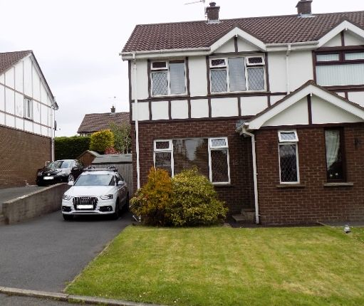 Thumbnail Semi-detached house to rent in Tudor Grange, Lisburn