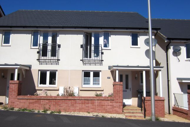 3 bed terraced house to rent in Younghayes Road, Cranbrook, Exeter