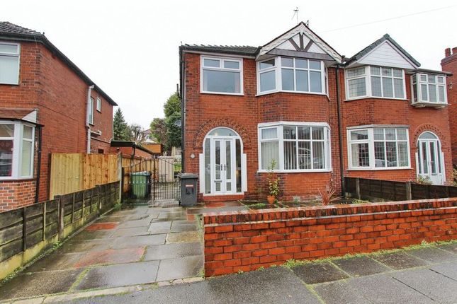 Thumbnail Semi-detached house for sale in Hillside Avenue, Whitefield, Manchester