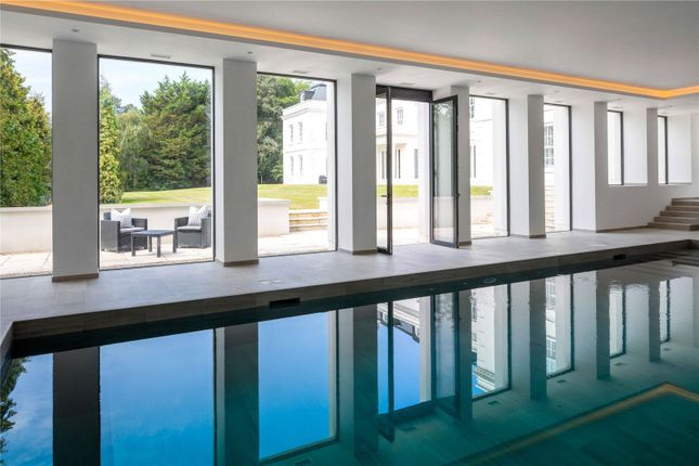 Swimming Pool of Woodlands Road West, Virginia Water, Surrey GU25