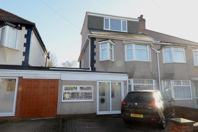 Thumbnail Semi-detached house for sale in Mickleover Road, Ward End, Birmingham