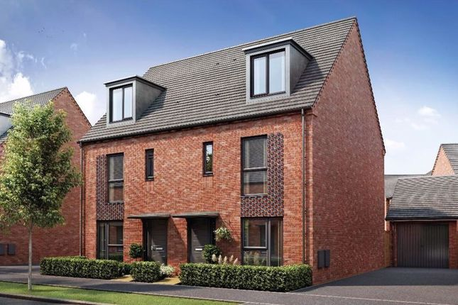 Thumbnail Semi-detached house for sale in Kings Wall Drive, Newport