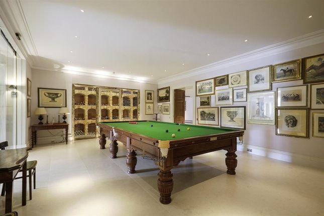 House. Estate Agents Lurgashall Billiard Room