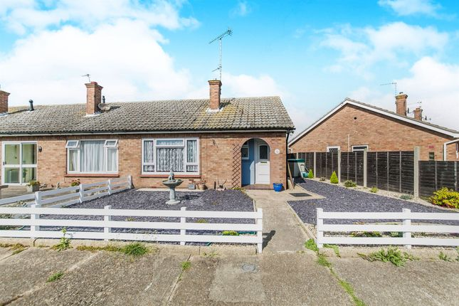 Thumbnail Semi-detached bungalow for sale in Creekhurst Close, Brightlingsea, Colchester