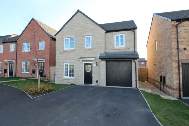 Thumbnail 4 bed detached house for sale in School Gardens, Barnsley