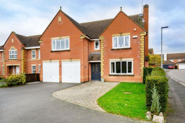 Thumbnail Detached house for sale in Troon Way, Burbage, Hinckley