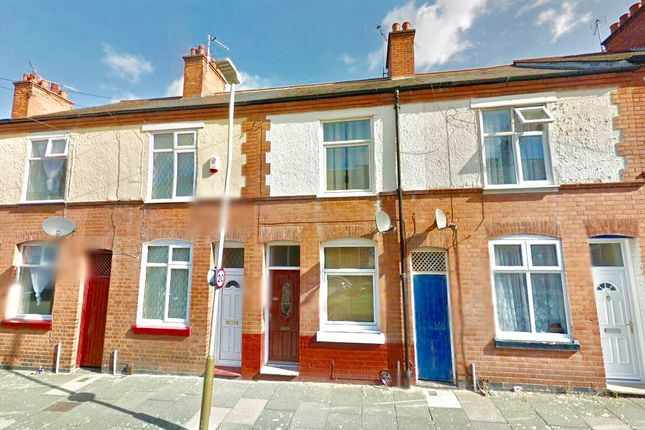 Thumbnail Terraced house to rent in Mountcastle Road, Leicester