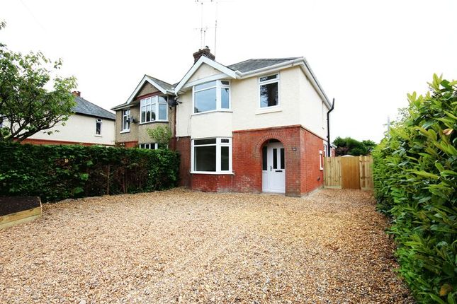 Thumbnail Semi-detached house for sale in New Road, Hythe, Southampton
