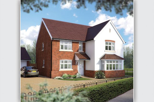 "Thumbnail Detached house for sale in ""The Arundel"" at Station Road, Long Buckby, Northampton"