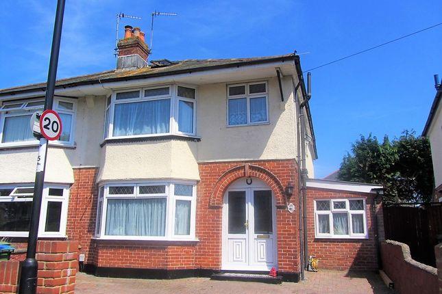 Thumbnail Semi-detached house for sale in Brookside Avenue, Southampton