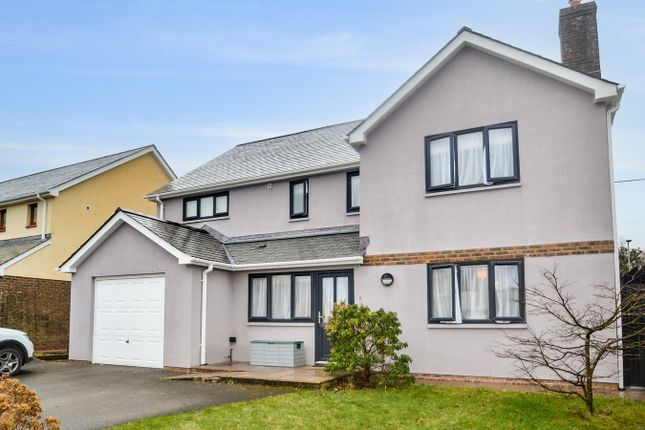 5 bed detached house for sale in Meadow Park, Shebbear, Beaworthy EX21