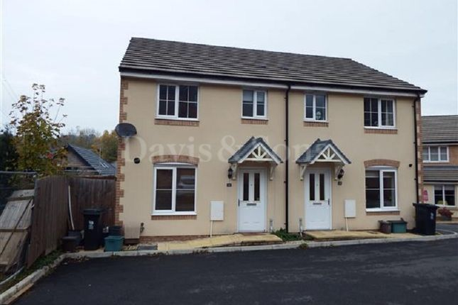 Thumbnail Semi-detached house to rent in St. Curigs Garden, Langstone, Newport.
