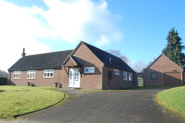 Thumbnail Detached bungalow for sale in The Street, Little Bealings, Woodbridge