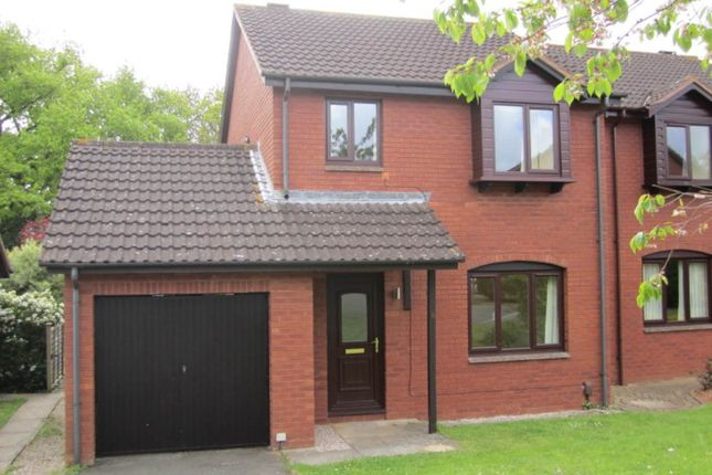 Thumbnail Property to rent in Whitebeam Close, Exeter