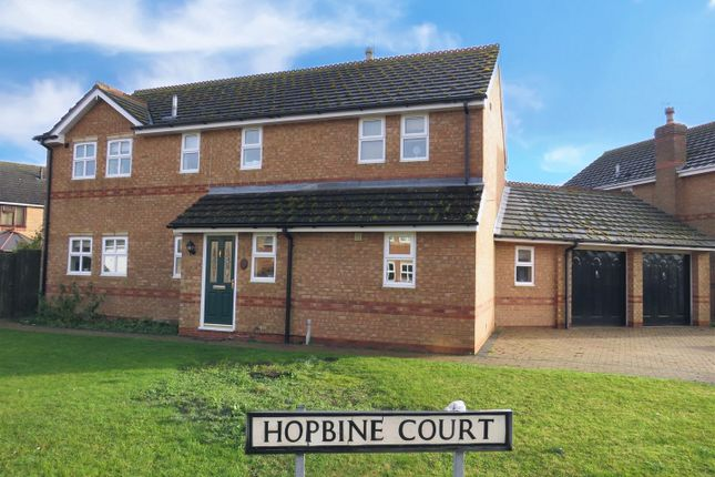 Thumbnail Detached house for sale in Hopbine Court, Ramsey, Huntingdon