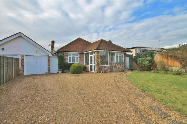 Thumbnail Detached bungalow for sale in Chertsey Lane, Staines-Upon-Thames, Surrey