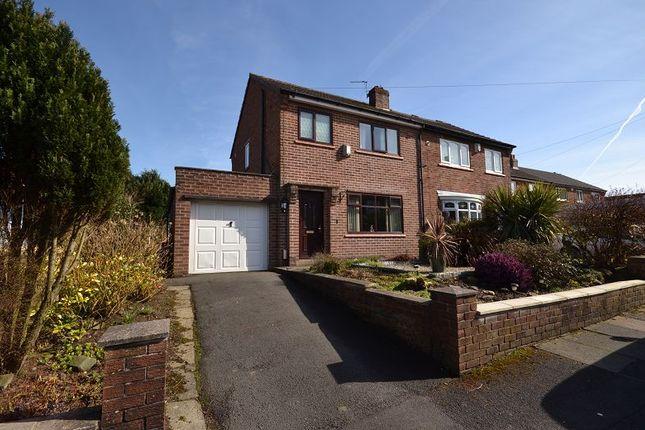 Thumbnail Semi-detached house to rent in Shepherds Close, Blackrod, Bolton