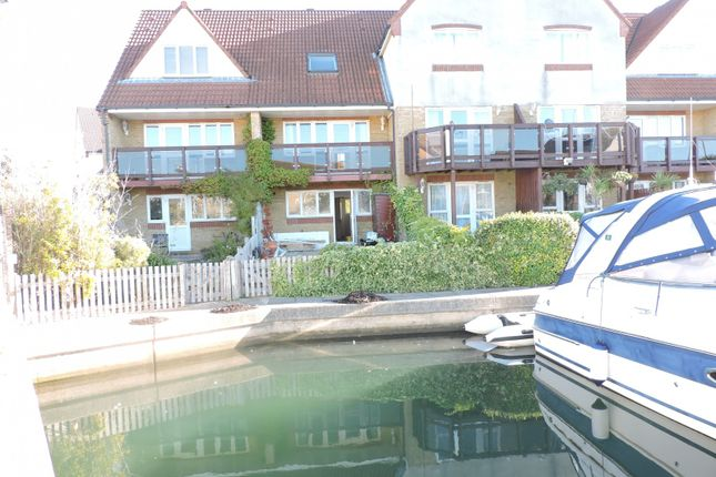 Thumbnail End terrace house to rent in Tintagel Way, Port Solent, Fareham