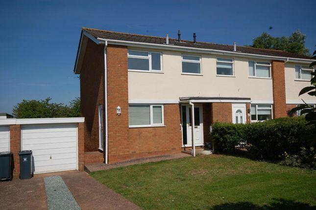Thumbnail Semi-detached house to rent in Brixington Lane, Exmouth, Devon