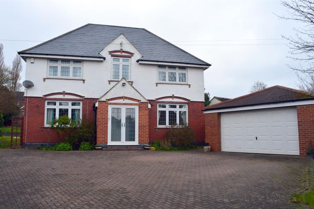 Thumbnail Detached house for sale in Allestree Lane, Allestree, Derby