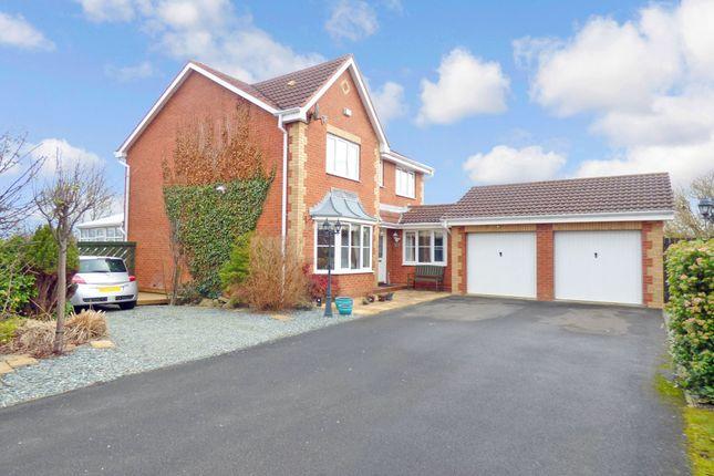 Thumbnail Detached house for sale in Carlow Drive, West Sleekburn, Choppington
