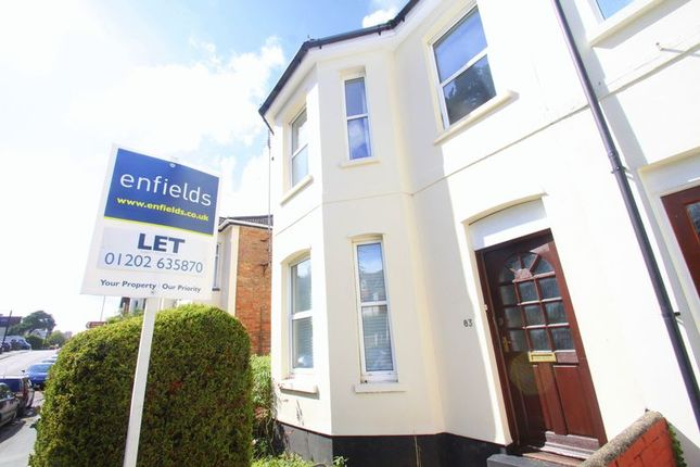 Thumbnail Detached house to rent in Southcote Road, Bournemouth