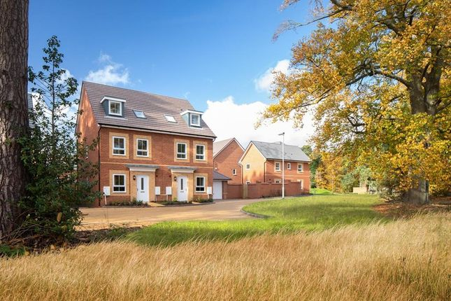 "Thumbnail Terraced house for sale in ""Norbury"" at Cricket Field Grove, Crowthorne"