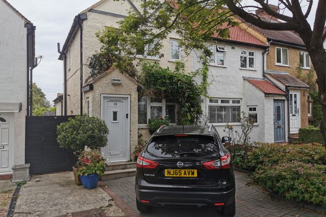 Thumbnail End terrace house for sale in Alberta Avenue, Cheam