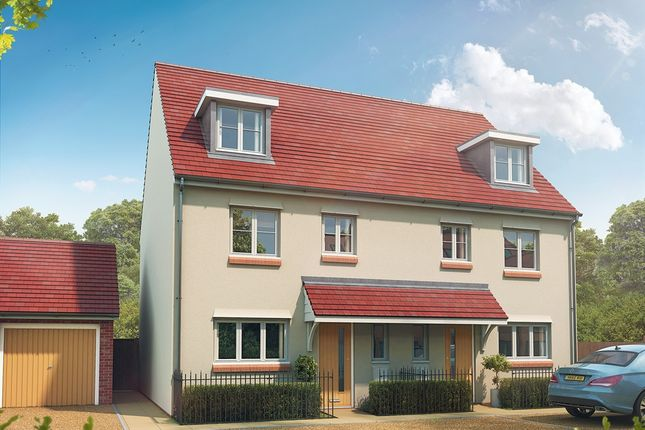 """Thumbnail Semi-detached house for sale in """"The Leicester"""" at Maidstone Studios, New Cut Road, Maidstone"""