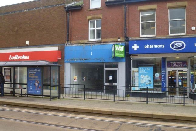 Retail premises for sale in Lord Street, Fleetwood