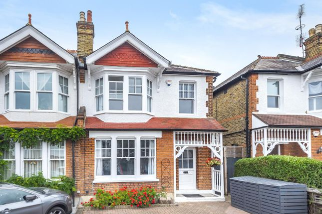 Thumbnail Semi-detached house for sale in Homersham Road, Norbiton, Kingston Upon Thames