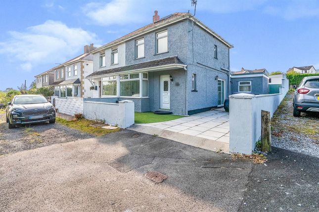 Thumbnail Semi-detached house for sale in Heol Gaer, Dyffryn Cellwen, Neath
