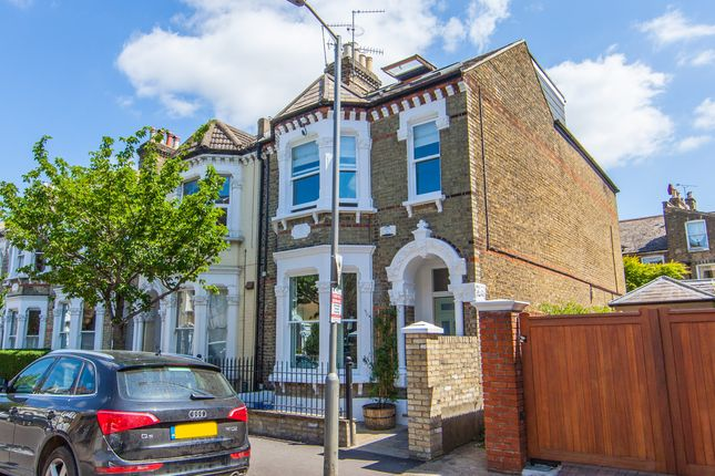 Thumbnail End terrace house to rent in Stormont Road, London