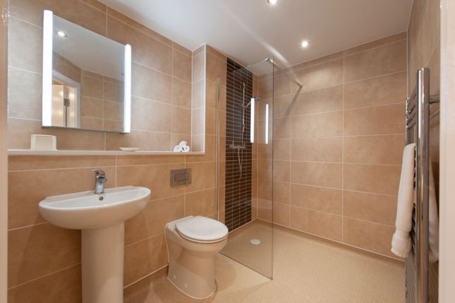 Shower Room of The Chimes, Lime Grove, Cheadle SK8