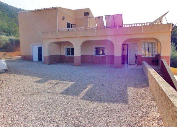 4 bed villa for sale in Hondon De Las Nieves, Hondón De Las Nieves, Alicante, Valencia, Spain
