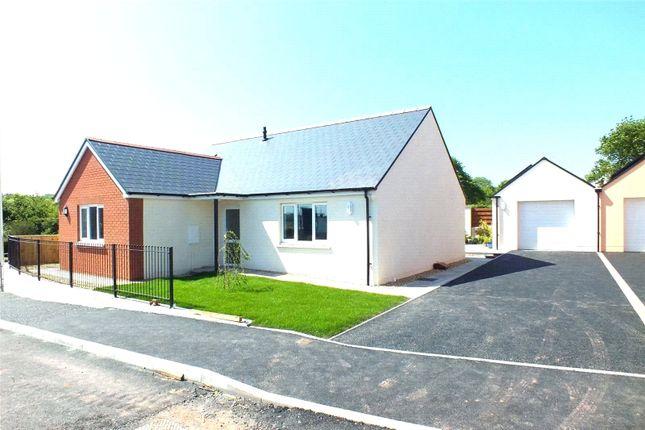 Thumbnail Bungalow for sale in Plot 18, Bowett Close, Hundleton, Pembroke