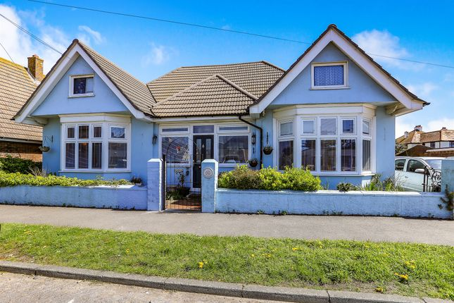 Thumbnail Detached bungalow for sale in Seaville Drive, Pevensey Bay, Pevensey