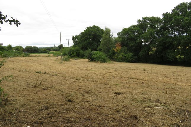 Thumbnail Land for sale in Higher Marsh Row, Exminster, Exeter