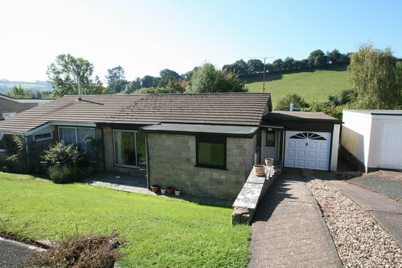 Thumbnail Semi-detached bungalow for sale in Bourchier Close, Bampton, Tiverton