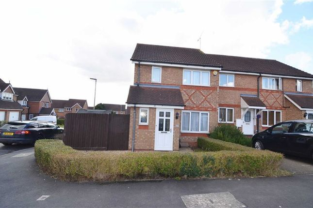 Thumbnail Town house for sale in Seacole Close, Thorpe Astley, Braunstone, Leicester
